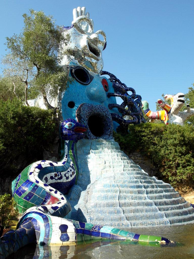 scultura giardino dei tarocchi