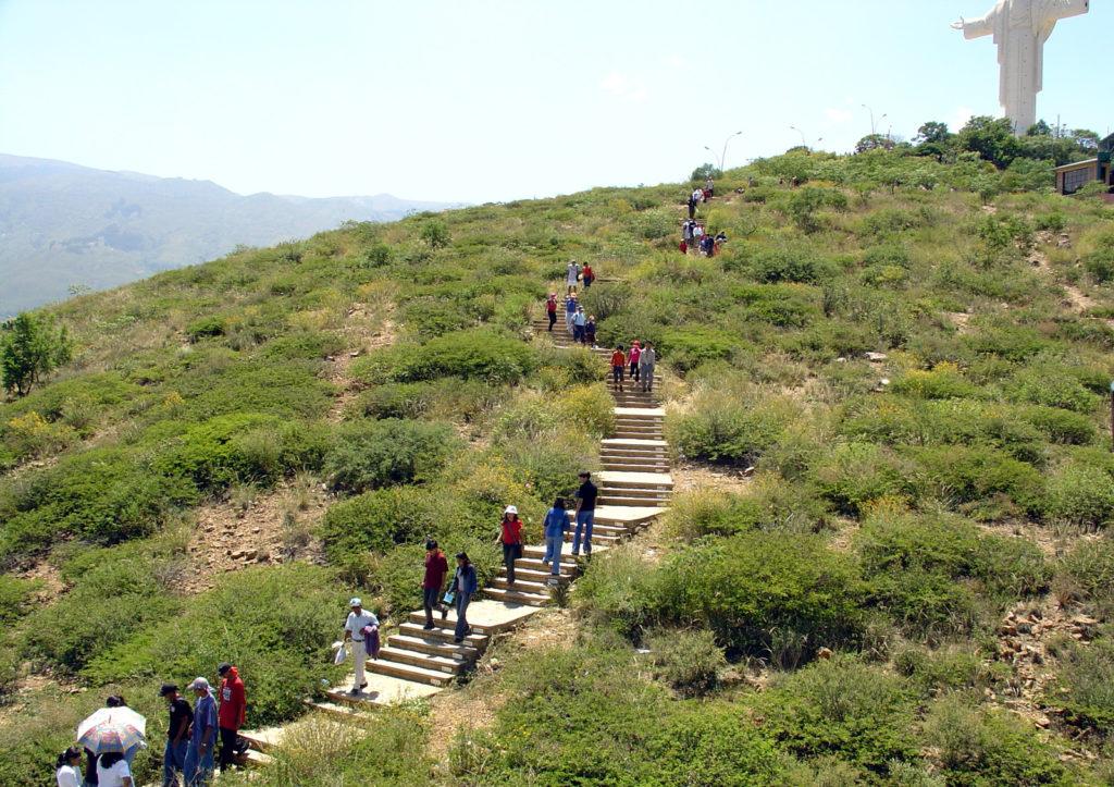 Sentiero cristo cochabamba bolivia