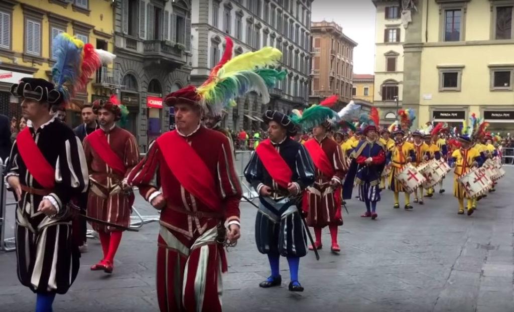 Scoppio del carro a Firenze 5