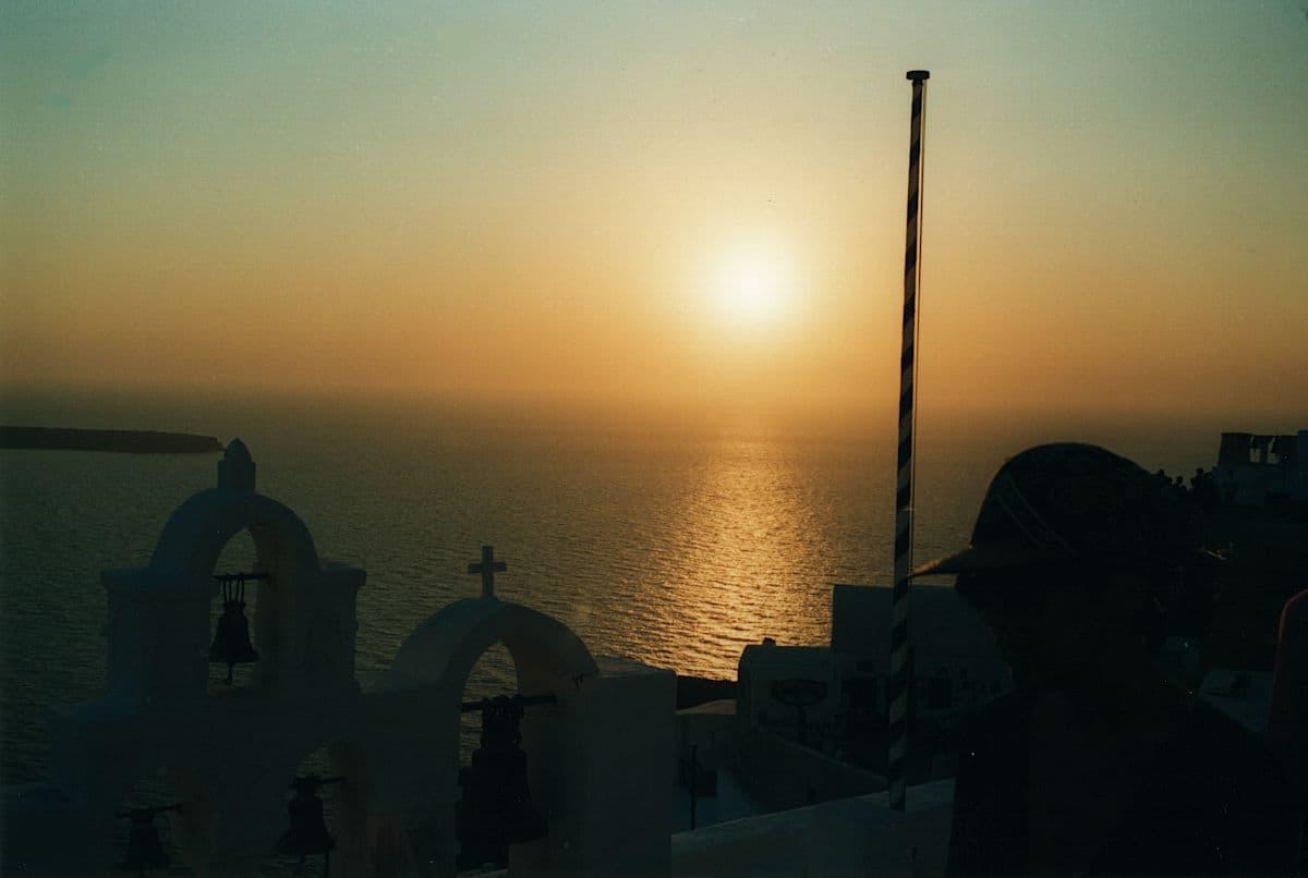 Santorini tramonto