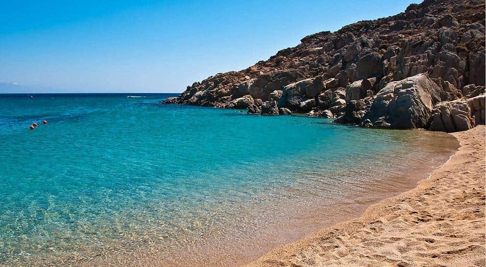Spiaggia santorini grecia
