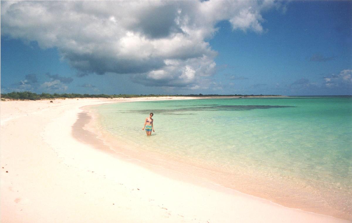 Spiaggia isole vergini britanniche