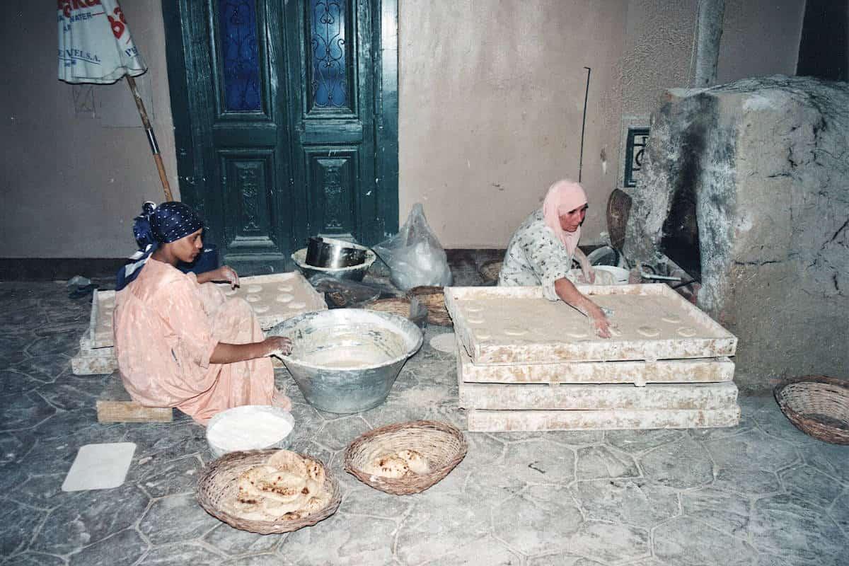 Egitto pane azimo