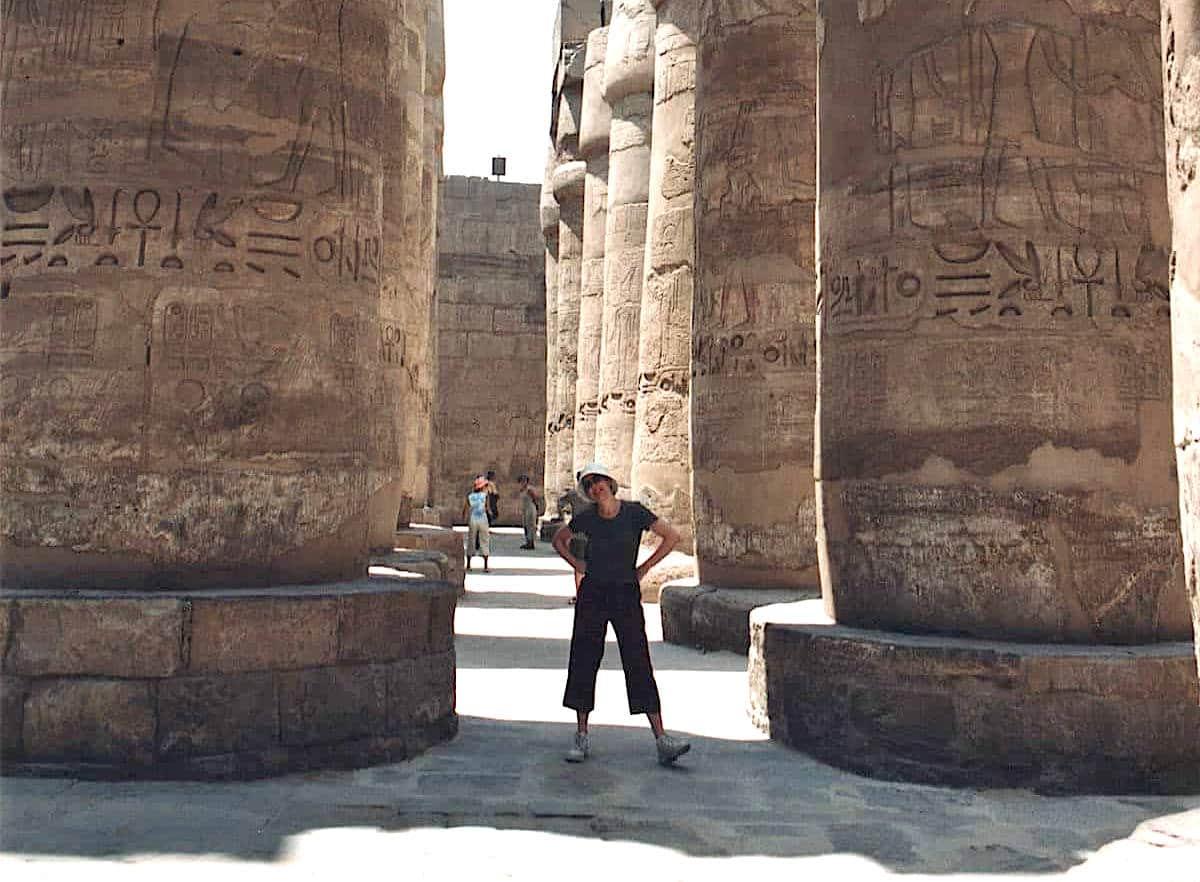 templi dell'antico egitto Karnak 3