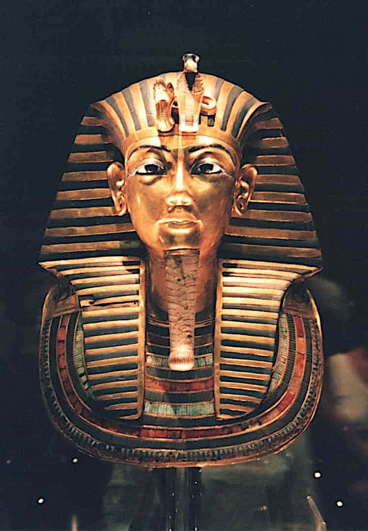 Maschera di Tutankamon