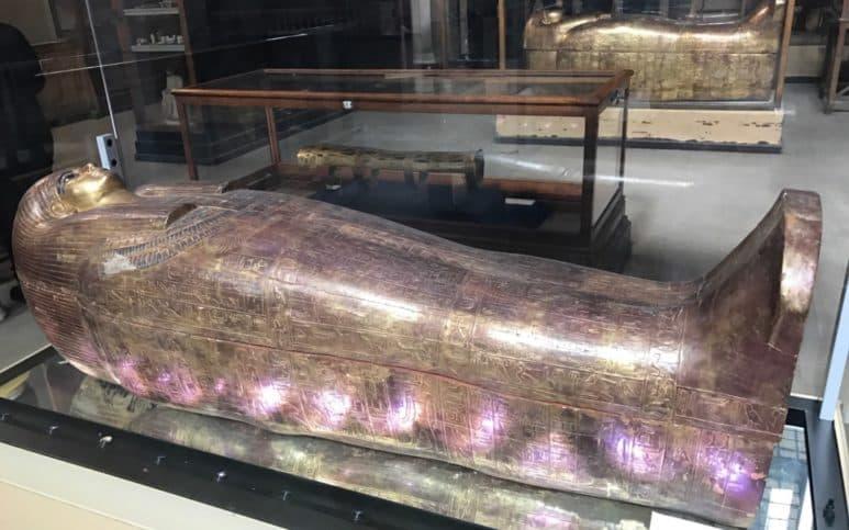 Museo egizio sala delle mummie