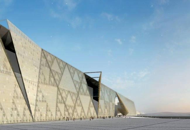 Nuovo museo egizio Il Cairo