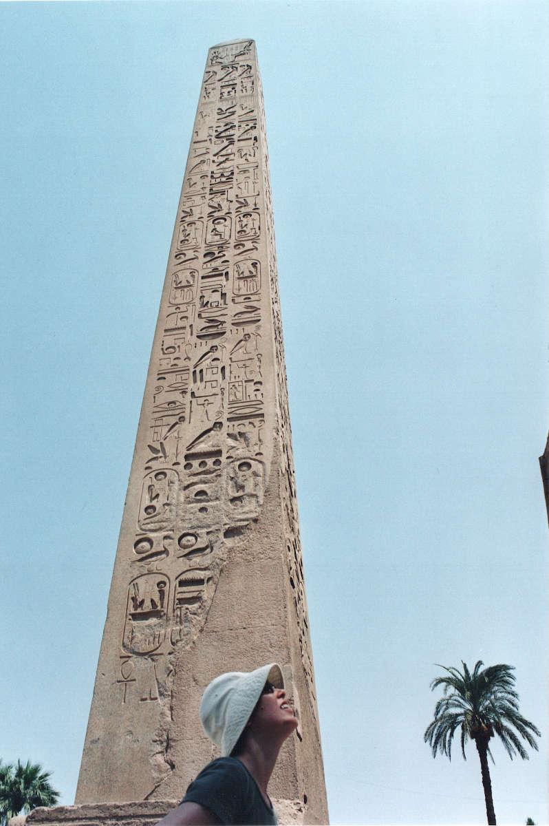 Obelisco tempio di Luxor