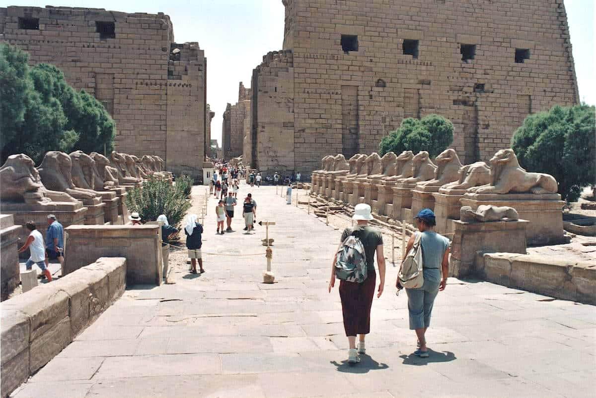 templi dell'antico egittoLuxor 1