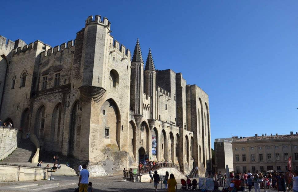 Palazzo dei Papi Avignone Francia
