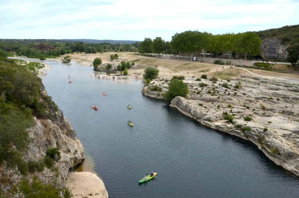 Pont du Gard attività