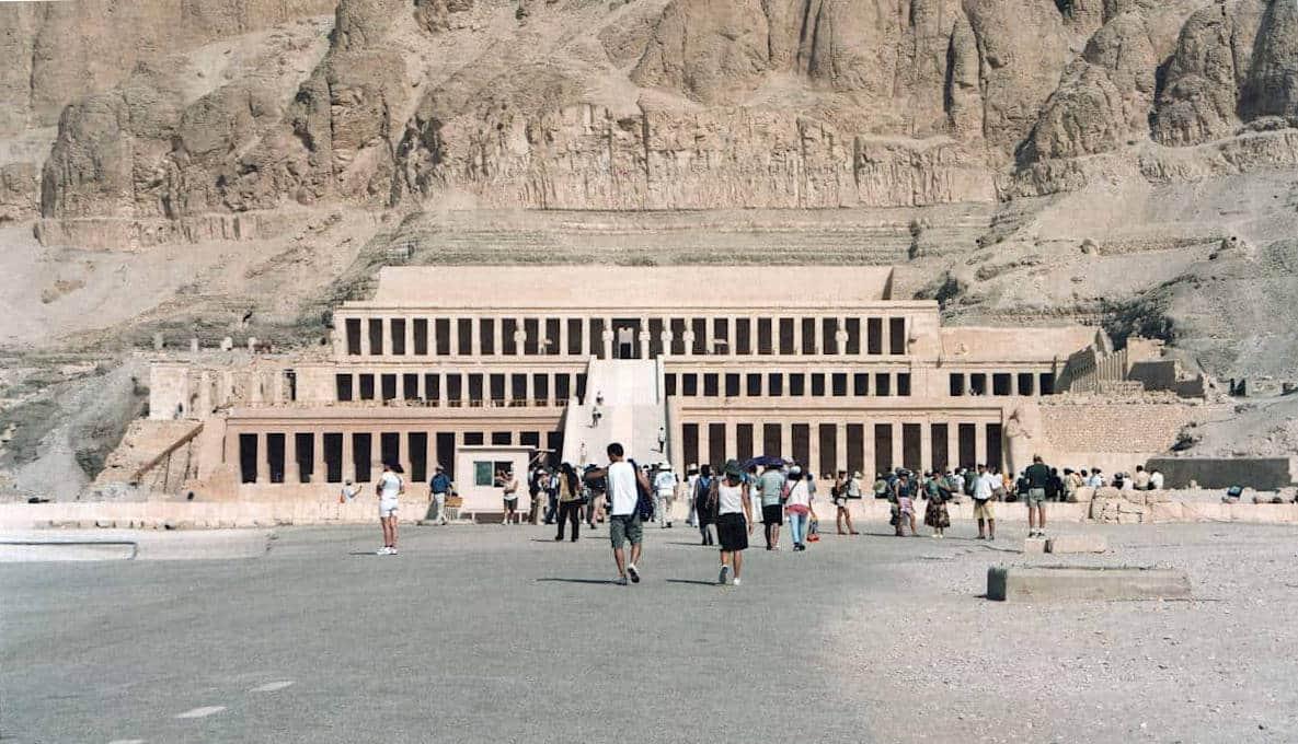 Templi dell'antico egitto di Hatshepsut