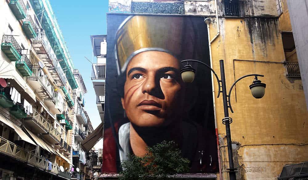Murales di Jorit San gennaro