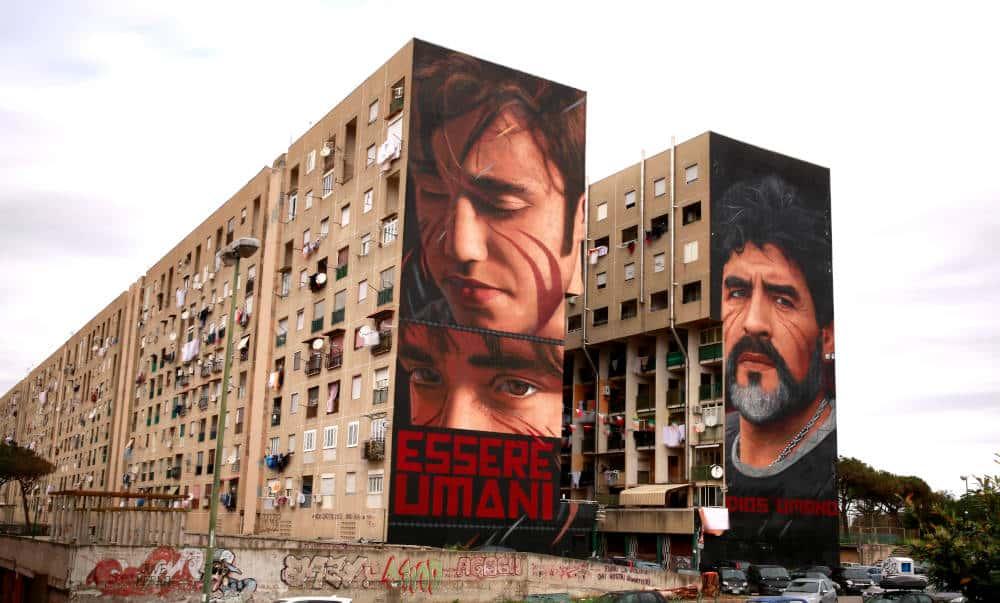 Murales di Jorit Napoli