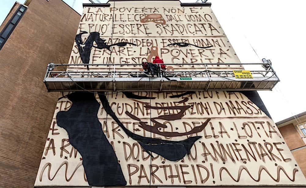 Murales di Jorit Nelson Mandela Firenze 3