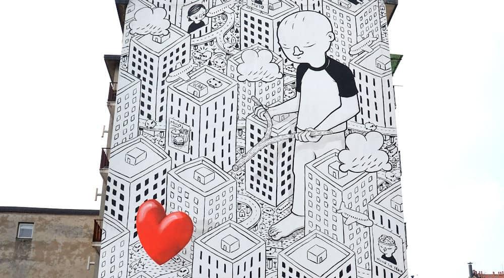 Itinerario Street Art e murales a Milano 3