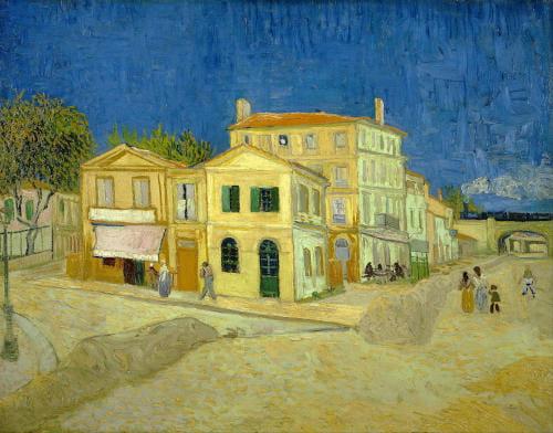 Vincent Van Gog La casa gialla