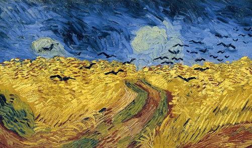 Vincent Van Gogh Campo di grano_1