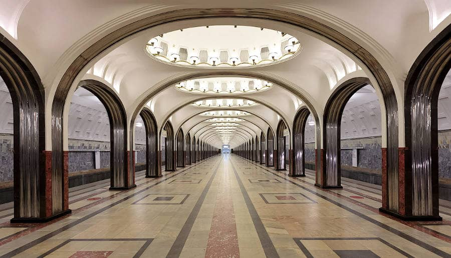 Metropolitana di Mosca - Majakovskaja