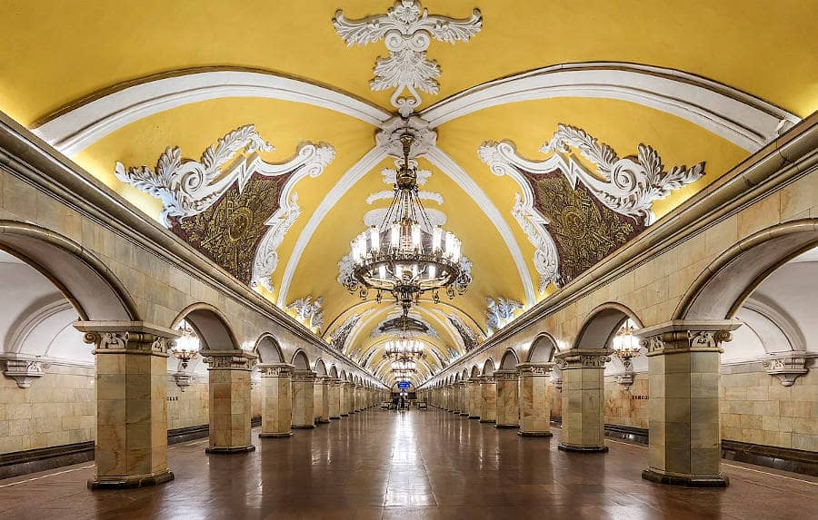Metropolitana di Mosca - Komsomolskaya