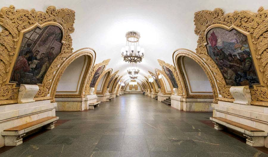 Metropolitana di Mosca - kievskaya