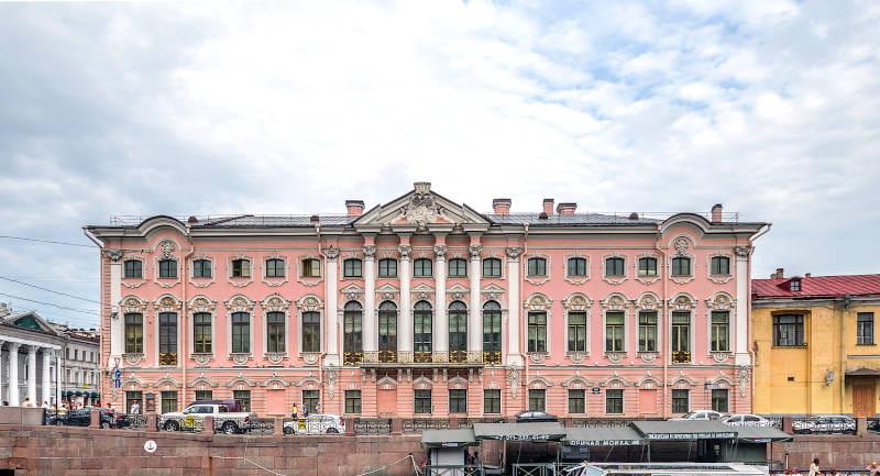Palazzo Stroganov prospettiva nevskij