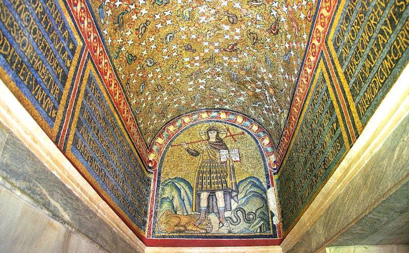 Cristo guerriero Cappella di Santandrea a Ravenna