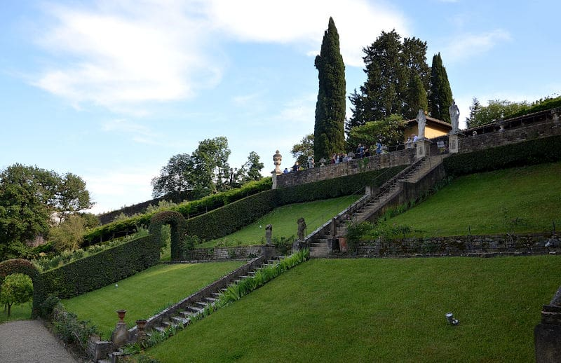 Giardino di Villa Bardini a Firenze