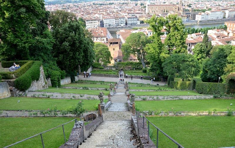 Giardino di Villa Bardini Firenze 1