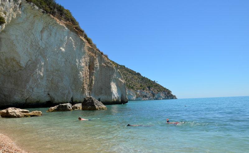 le spiagge del Gargano