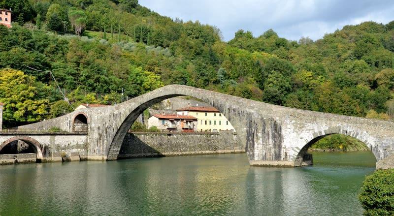 Il ponte del diavolo panoramica