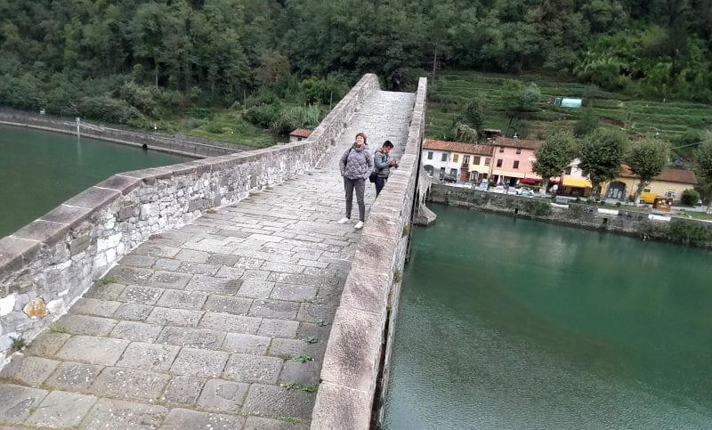 Il ponte del diavolo vista
