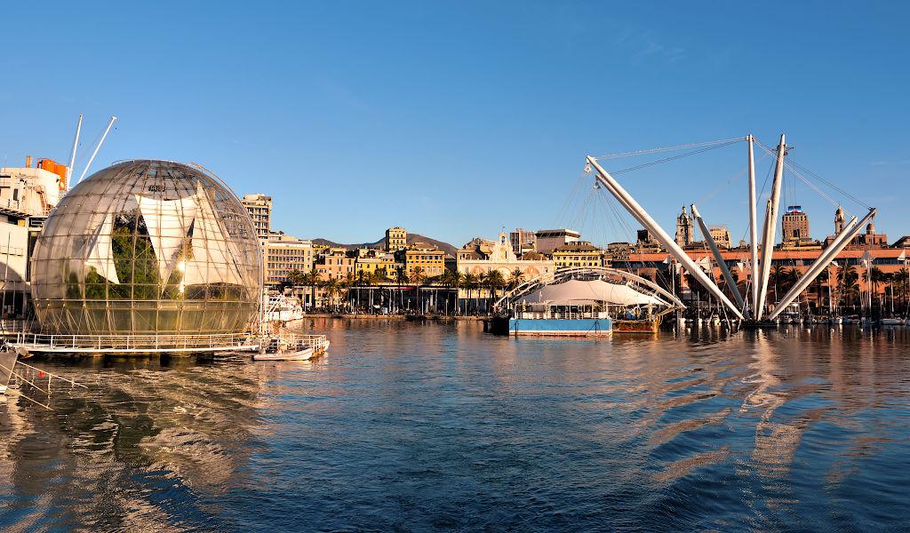 la Genova di Renzo Piano