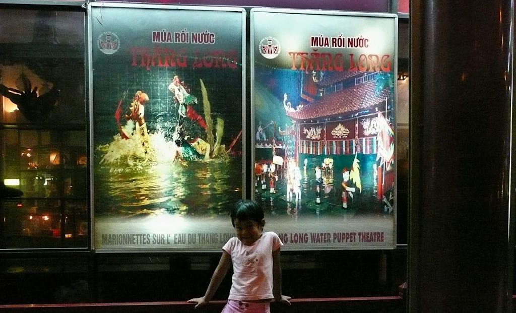 Marionette sull'acqua ad Hanoi 1