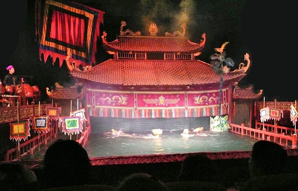 Marionette sull'acqua ad Hanoi 2