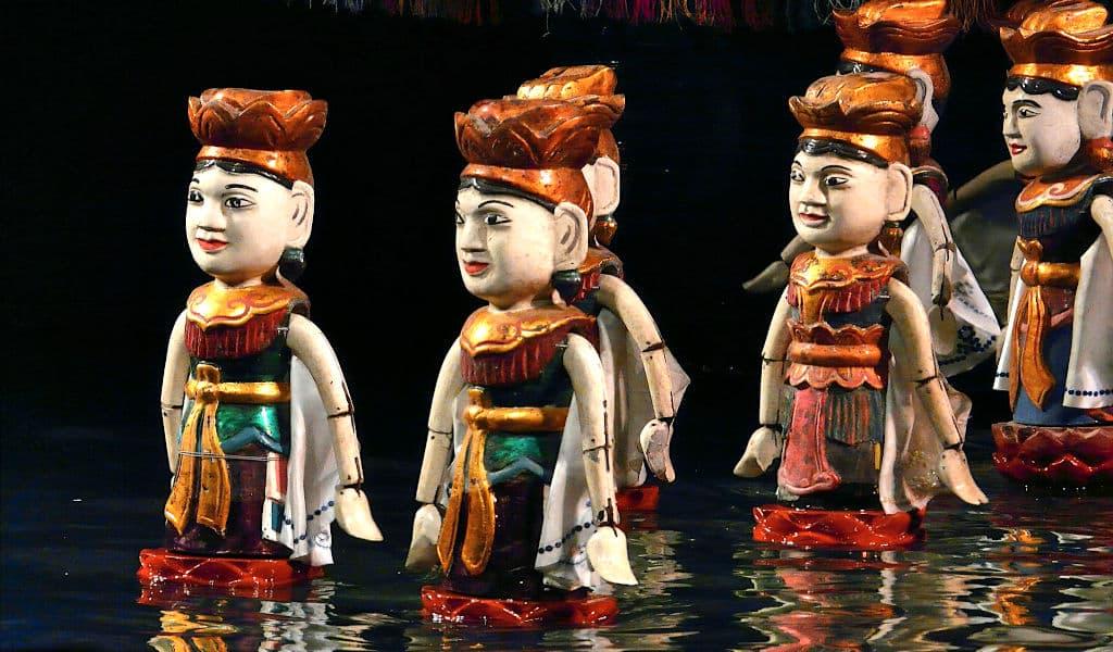 Marionette sull'acqua ad Hanoi