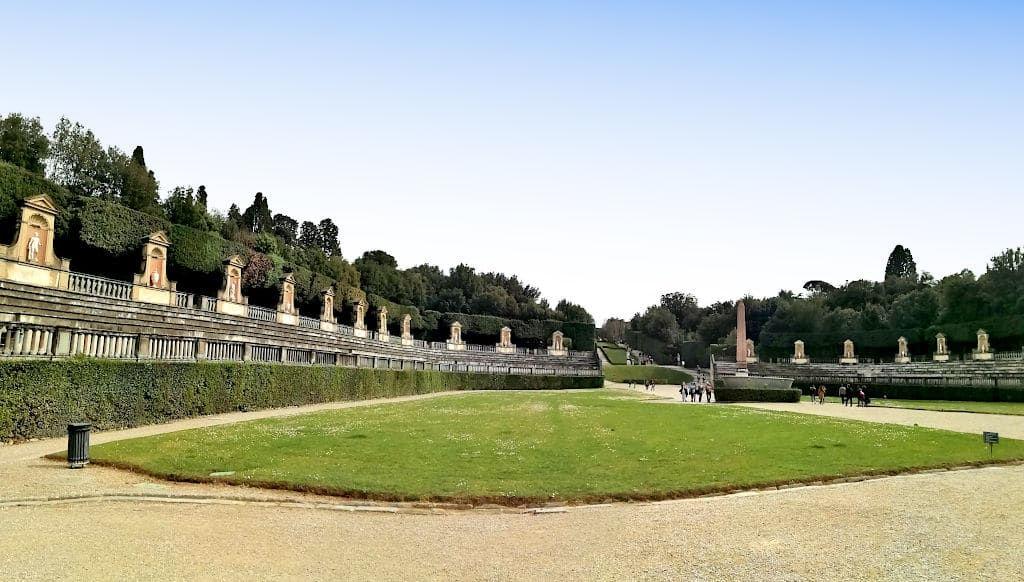 Giardino di Boboli a Firenze Anfiteatro