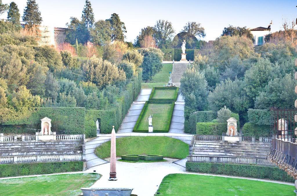 Giardino di Boboli a Firenze vista51