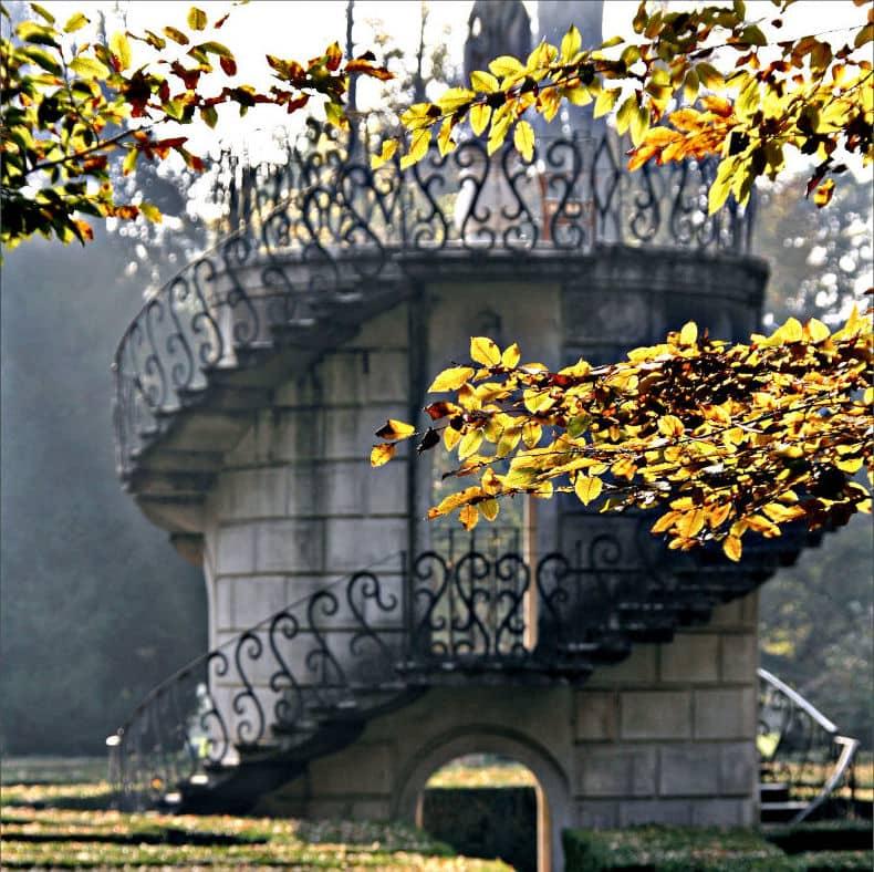 Scala labirinto Villa Pisani a Stra