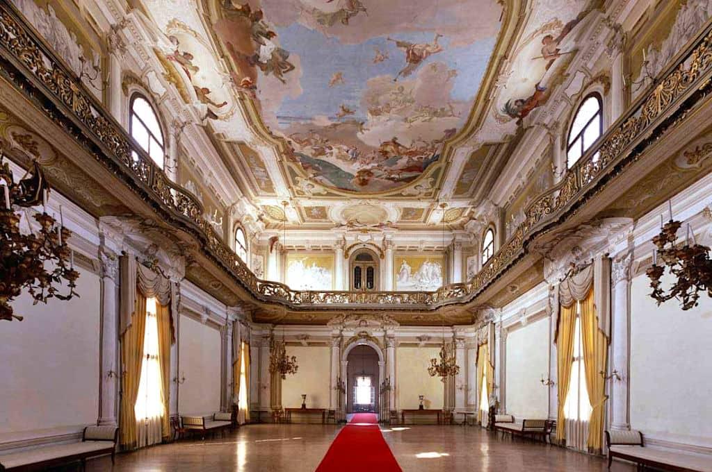 Villa Pisani a Stra interno